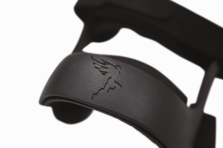 Icarus knee brace logo front